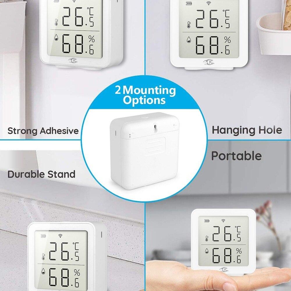 Wifi sensor de temperatura e umidade inteligente