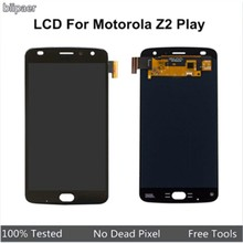 100% Tested AMOLED LCD Display For Motorola Z2 Play XT1710-01/07/08/10 LCD Screen Touch Digitizer Assembly For Moto Z2 Play(China)