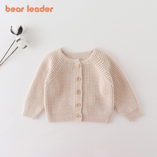 Baby Sweater Cardigan Knitted Jacket Bear Spring Leader Coat Autumn Boys