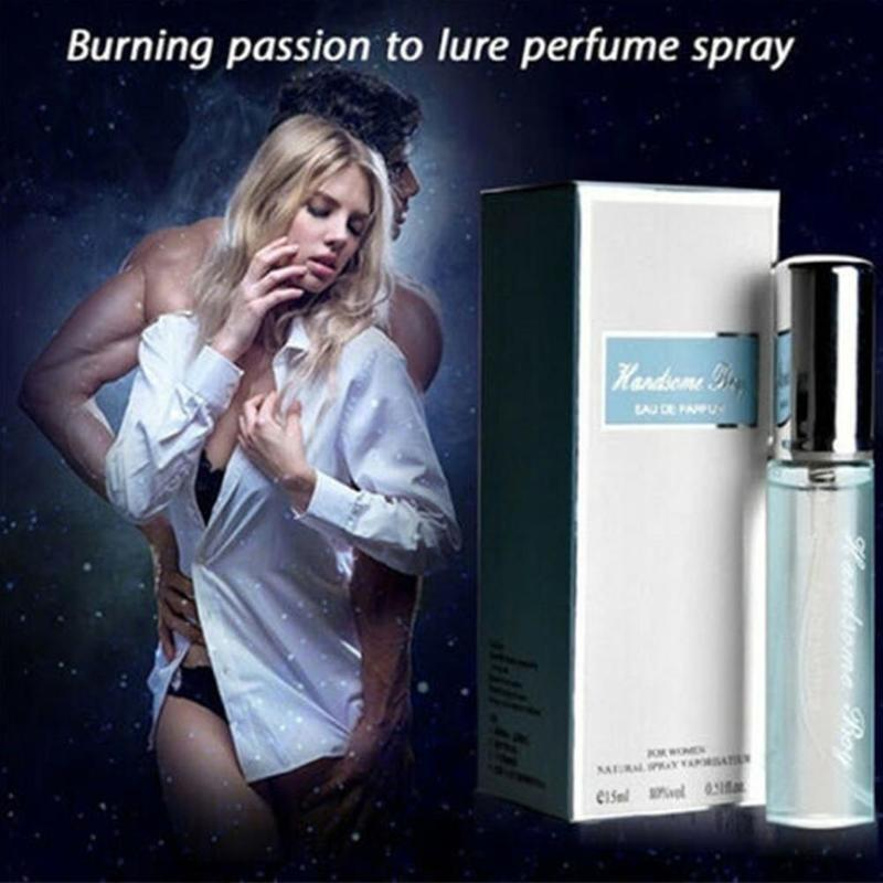 15ml Long-lasting Light Floral Notes Fragrance Perfume Spray Flirting Sample Attracting Men And Women Body Deodorization