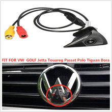 Car Front View Parking Camera Waterproof Wide Degree Logo Embedded  FIT FOR VW  GOLF Jetta Touareg Passat Polo Tiguan Bora недорого