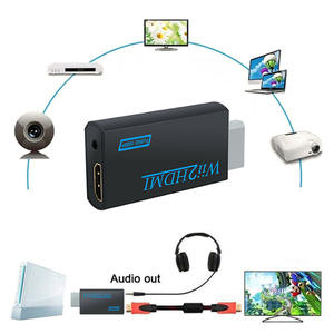 Support Wii2hdmi Wii-To-Hdmi-Converter Upscaler-Adapter 1080P Video-Output for with Audio