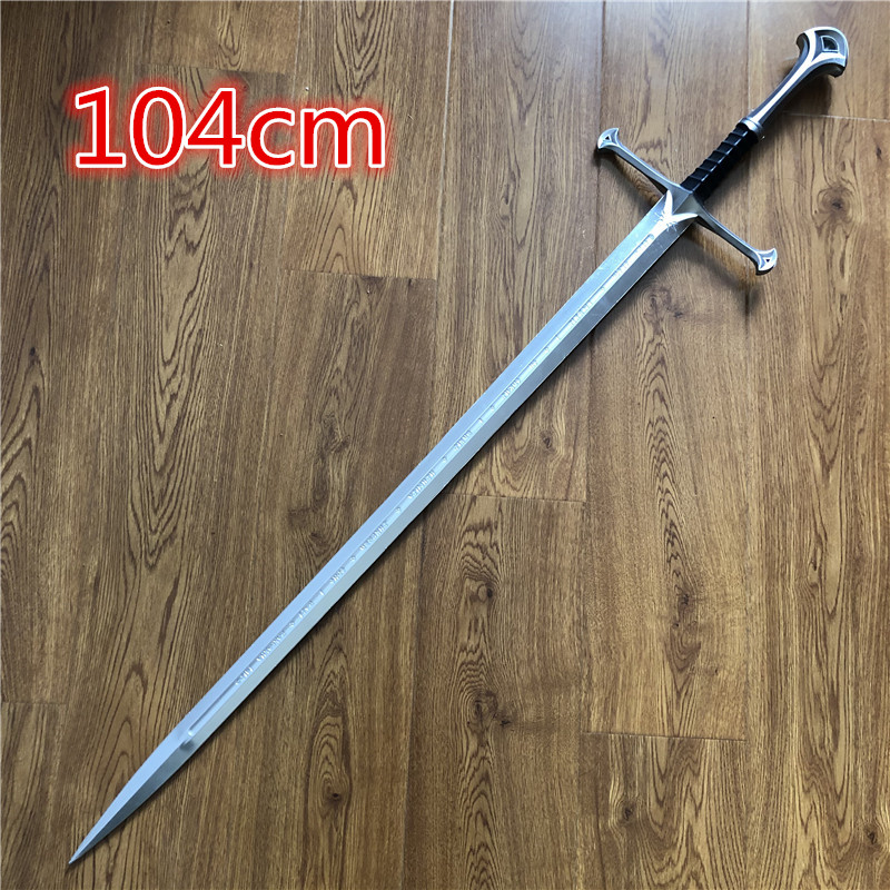 1:1 The Same Nasir Sword In The Movie Devil  Sword House Stark Of Winterfell Aragon Sword Cos Props Pu Sword Toys