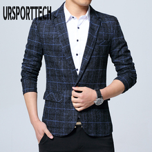 New Brand Men Suit Blazer Autumn Slim Fit One Button Fashion Formal England Style Mens Classic Wedding Jackets