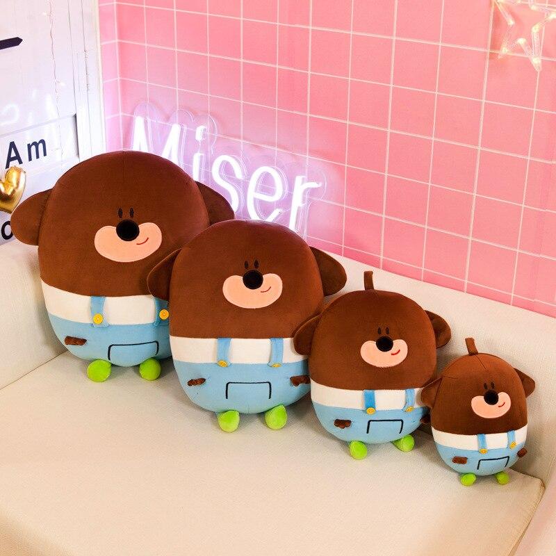 New High Quality Hey Duggee Woof Duggee Stuffed Plush Toy Cartoon Animie Doll Birthday Gifts