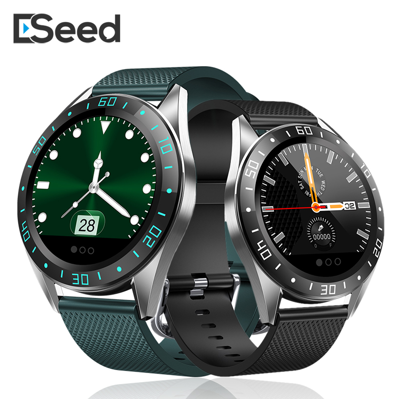 ESEED GT105 smart watch men IP67 waterproof 1.2 inch heart rate blood pressure call message remind smartwatch for apple iphone