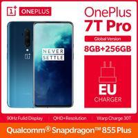 2019 Global Version OnePlus 7T Pro 8GB 256GB Snapdragon 855 Plus Smartphone 6.67Fulid AMOLED 90Hz Display 4085mAh NFC UFS 3.0