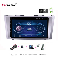 Carmitek For Toyota Camry 7 40 50 2006 2011 Car Radio Multimedia Video Player Navigation GPS Android 8.1 No 2din 2 din dvd