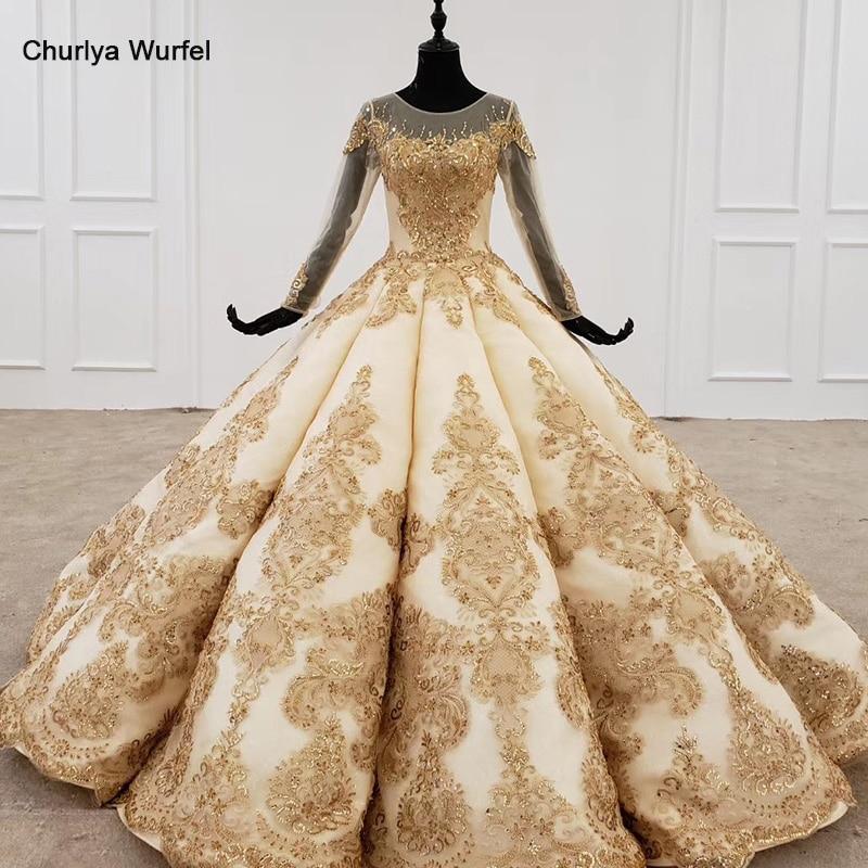 HTL1163 Formal Dress Women Elegant Illusion Long Sleeve O-neck Sequin Pattern Crystal Lace Up Back Ball Gown New платья вечерние