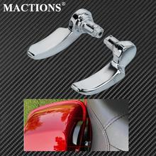 Motorcycle Chrome Saddlebag Lid Lifters For Harley Touring Electra Glide Street Glide Road King FLHR 2014 2017 2018 2019