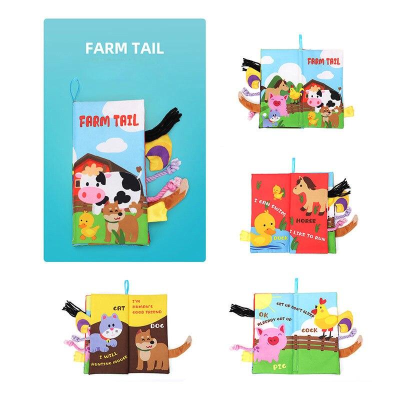 Farm  cloth book