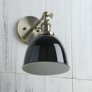 Image 4 - Permo Vintage wandlamp 6.5 Wall Lamps Black Modern Wall Sconce Industrial Stair Wall Light Fixtures New Year Christmas Decor