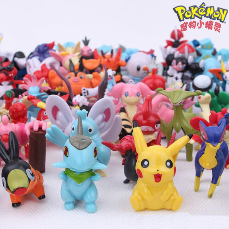 Anime Pokemon Pikachu Snolax Puppet Figures Kid Toy For Wholesale Torchic Chikorita Blastosise For Chillren 144pcs Per Set 2-3cm
