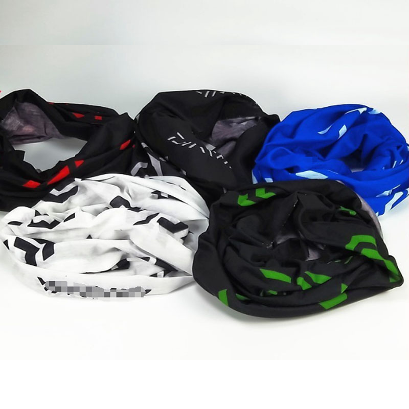 Fishing Scarf New Sun Protection Windproof Multifunctional Scarves Outdoor Bicycle Headwear Seamless Magic Fishing Bib Wholesale