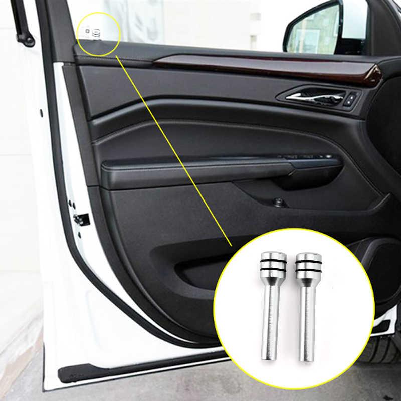 2 pçs automóveis porta do carro pino de bloqueio botão elevador cobre liga de alumínio para vw golf 4 5 7 6 mk4 honda civic 2006-2011 accord 2003