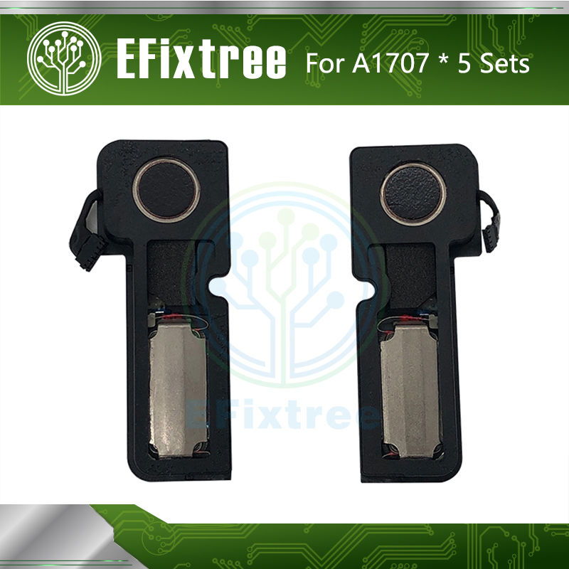 5 Sets Laptop A1707 Speakers For Macbook Pro 15
