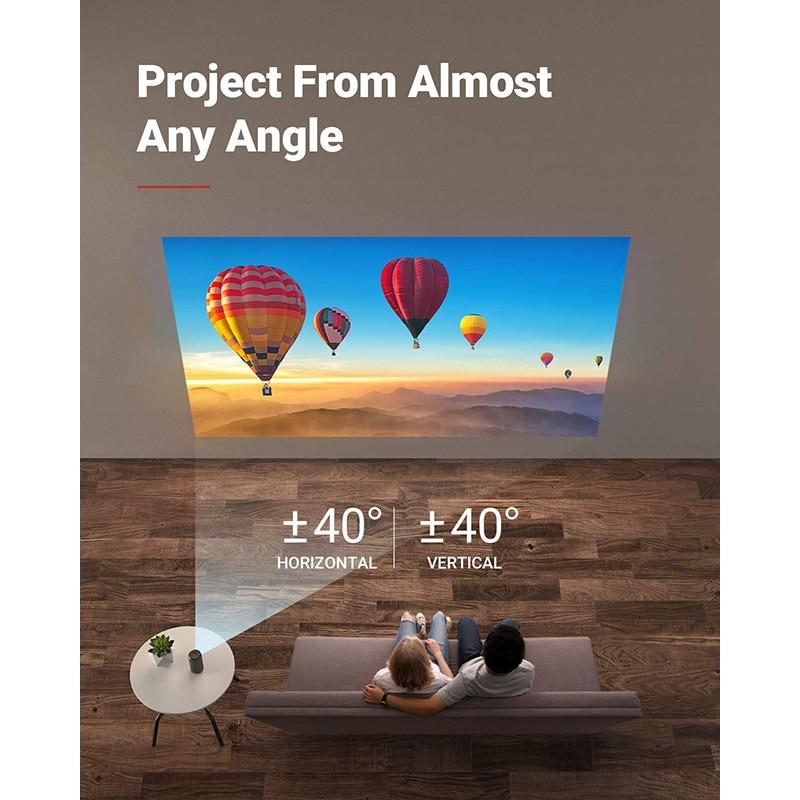 Anker Nebula Capsule Max Pint Sized Wi Fi Mini Projector 200 ANSI Lumen Portable Projector 4