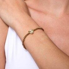 pulseras mujer Trendy Women Bracelet Braided Macrame Beads Charm Adjustable Strand Bracelet pulsera hombre mujer couple Jewelry braided strand bracelet watch
