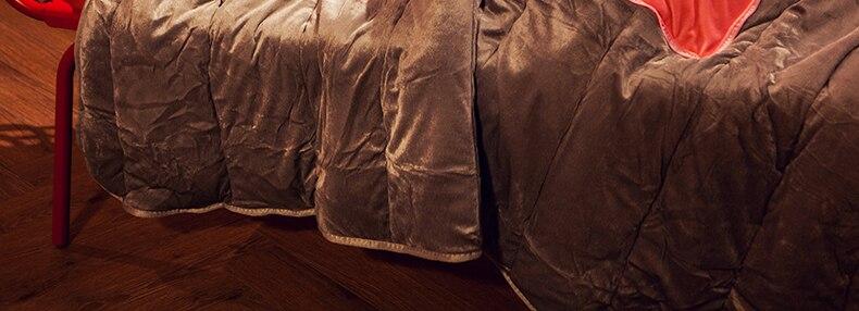 Almofada colcha dupla finalidade escritório engrossado nap