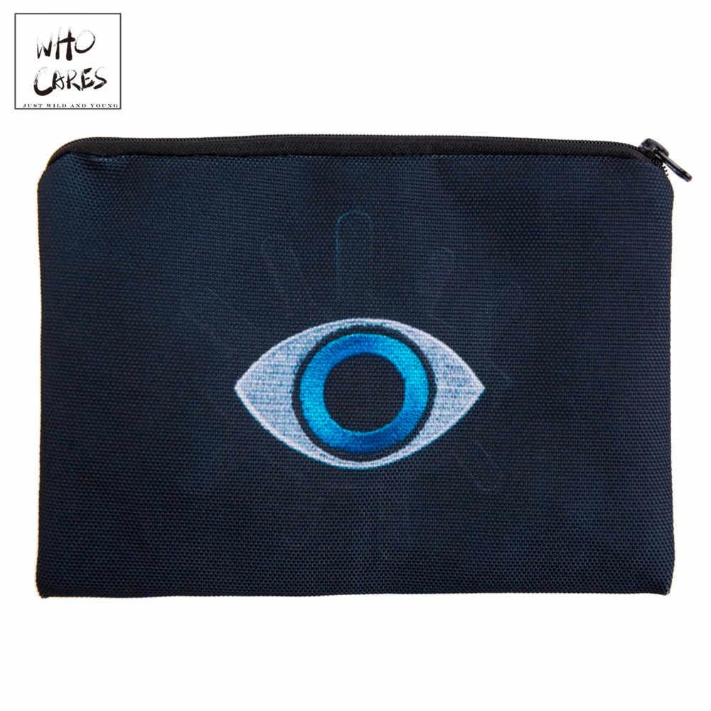 Eye Patch 3D Afdrukken Eenvoudige Make Up Tas Mode Cosmetische Case Vrouwen Trousse De Maquillage Neceser Organizer Etui