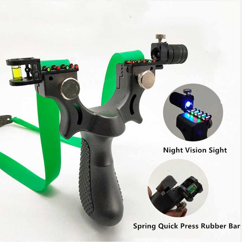 Profissional poderosa caça tiro estilingue laser precisão apontando ponto e horizontal visando tiro mais preciso 2019