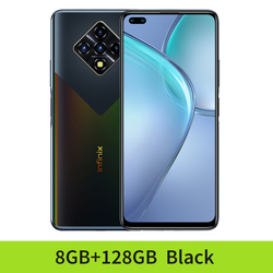 Глобальная версия смартфона Infinix ноль 8 5G WI-FI распознавания лиц и 8 Гб 128 64-мегапиксельная четырехъядерная камера 4500 мА/ч, Батарея супер Зарядн...