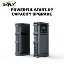 GKFLY 2000A urządzenie do uruchamiania awaryjnego samochodu wzmacniacz do akumulatora samochodowego 12V 68800mAh wysokiej Pokwer samochód urządzenie zapłonowe Power Bank dla benzyny samochód z napędem Diesel