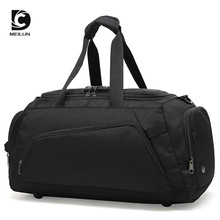DC MEILUN Waterproof Multifunction Suit Storage Travel Bags 15.6 Inch Laptop Shoulder Bag Anti-Theft Hand Bag with Shoe Pouch