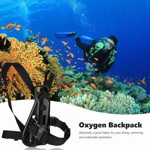 Прочный задний держатель кронштейн резервуара для подводного плавания практичный ремешок аксессуары рюкзак акваланга кислородный цилиндр Поддержка