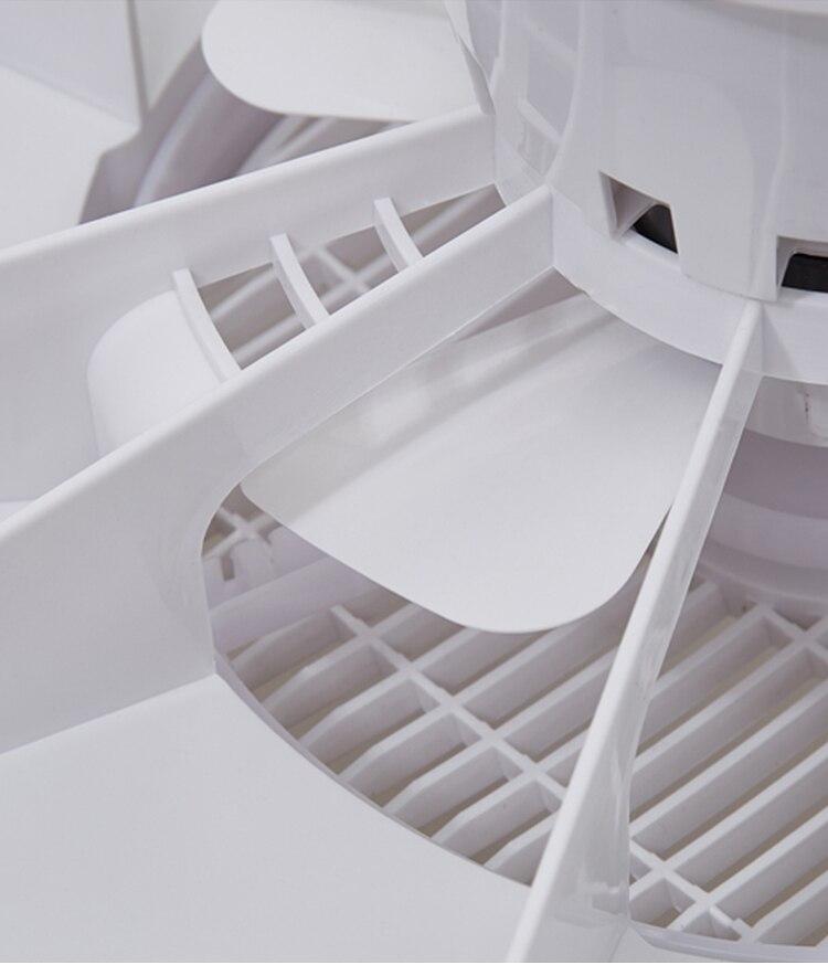 50cm led ventilador de teto com controle