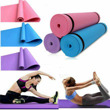 1730*600*6mm EVA Yoga Mat 6mm High Density Non-Slip Multi-Function with Carrying Strap Fitness Pad For Pilates