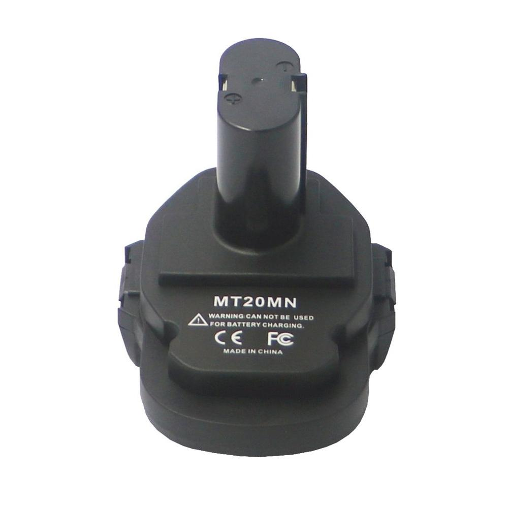 MT20MN Battery Adapter For Power Tools Portable 18V Lithium Battery Converter Power Tools Battery Adapter