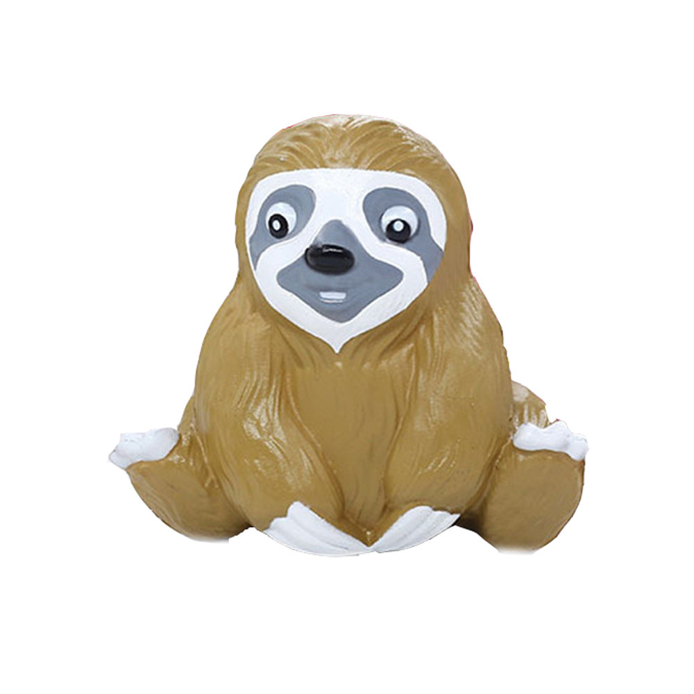Squishy Cute Sloth Stress Reliever Ball Slow Rising Scented Stress Reliever Squishy Toys Antistress Child Kid Baby Toys  L1219