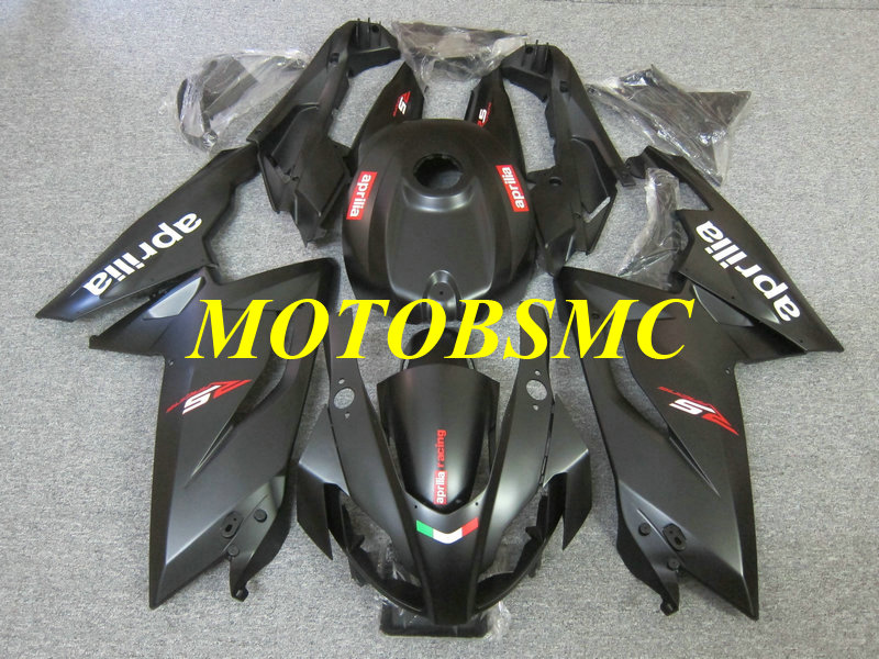 Injection Mold Fairing kit for Aprilia RS125 06 07 08 09 10 11 RS 125 2006 2011 ABS Matte black Fairings set+gifts AP23