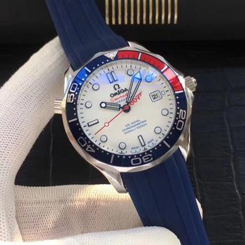 Top Brand Luxury Automatic Mechanical Watch Mens Watches Ceramics Sapphire Luminous Calendar Mechanical 007 Watch 548