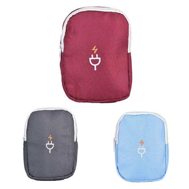 1 шт. водонепроницаемые электронные аксессуары сумка для хранения Зарядное устройство USB кабель Органайзер