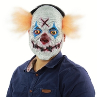 Halloween Horror Mask Clown Latex Mask Carnival Party Cosplay Props Halloween Costume Accessory