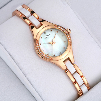 Elegant Ladies' Watch Quartz Waterproof Hand Woman's Watch Small Fashion Wrist Watches for Women Clock Bracelet Luxury ladies watch bracelet luxury brand small dimand wrist watch top selling unique female quartz hand watch gift for women