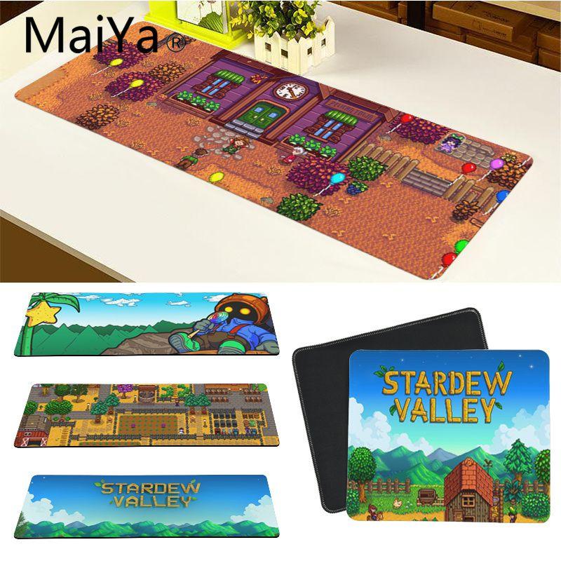 Maiya High Quality Stardew Valley Laptop Gaming Mice Mousepad Free Shipping Large Mouse Pad Keyboards Mat
