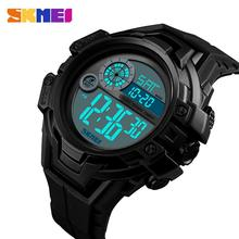 SKEMI Brand Mens Watches LED Digital Outdoor Sports Watch For Men Wrist Watch Alarm Clock Waterproof Military Relogio Masculino tezer waterproof 3bar sports smart watches men luxury brand military digital watch led display alarm reminder часы for 90001