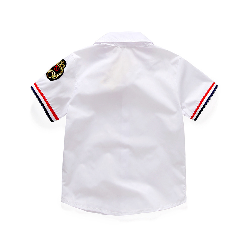Baby Boys Clothing Sets Summer Children's T Shirts + Shorts + Belt 3pcs Suits Bow Pants Sports Kids Clothes Fashion Clothes 3