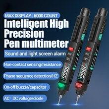 ANENG A3008 Digital Multimeter Auto Intelligent Sensor Pen Tester 6000 Counts NonContact Voltage Meter Multimetre polimetro