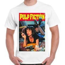Pulp Fiction Movie Tarantino 90s Cult Retro T Shirt 228(China)