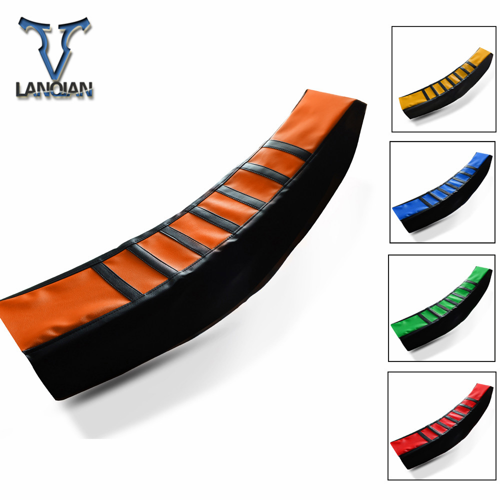 Motorcycle Universal Seat Cover Rubber Striped Soft Seat Cover Moto For KTM 50/250/125/65/85/105/150/450/525 SX FREERIDE <font><b>E</b></font> 350 image