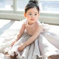 Платье для маленьких девочек, детское платье принцессы для девочек 1 года, платье-пачка для дня рождения, Детский костюм для младенцев, плать...