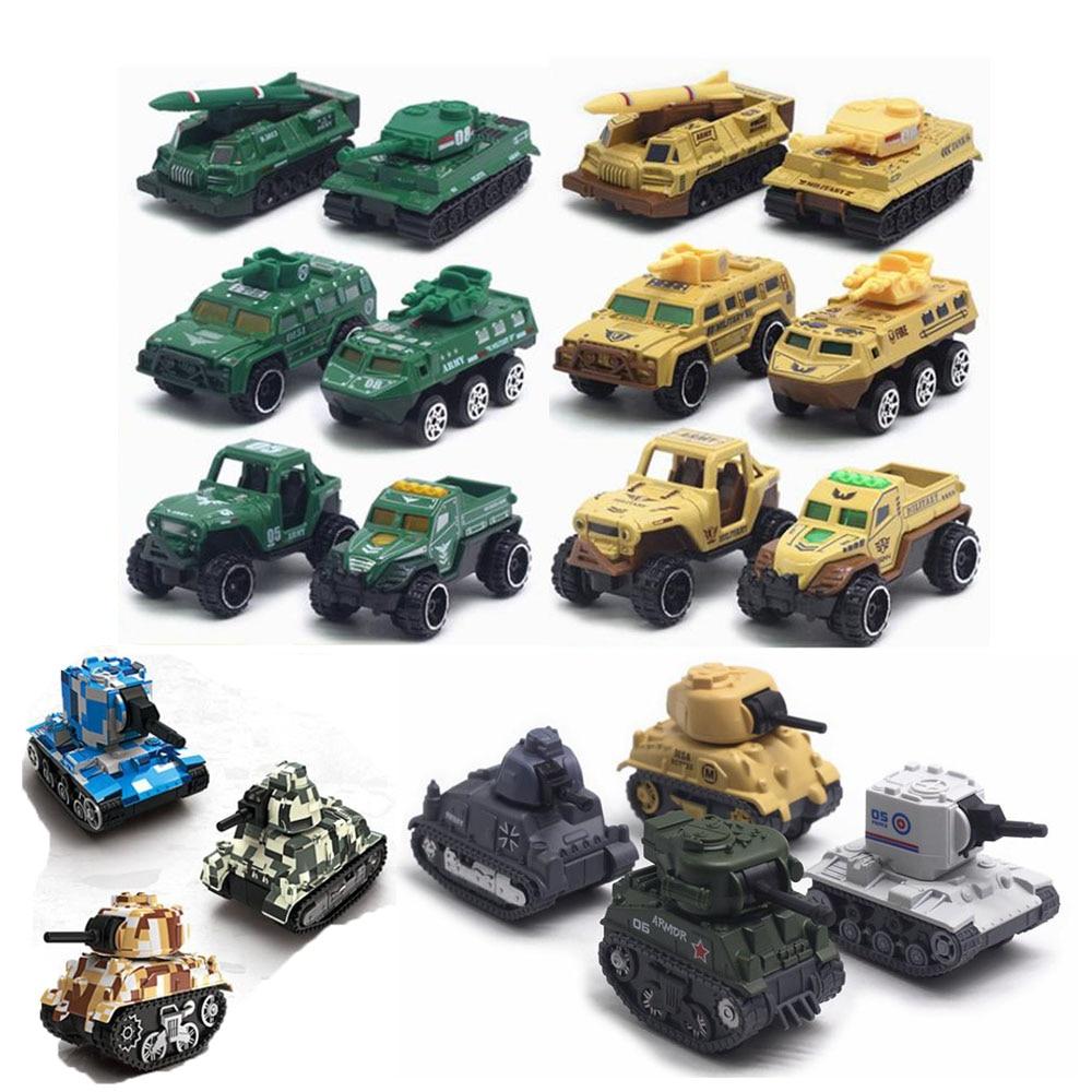 1:64 Тактическая Военная Модель автомобиля имитация сплава Лыжный Спорт военного танка бронированный автомобилей внедорожник модели KidsToys