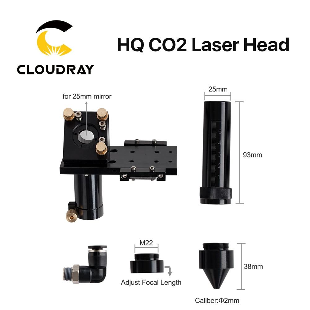 """""""Cloudray HQ CO2"""" lazerio galvos fokusavimo objektyvas 20 mm - Medienos apdirbimo mašinų dalys - Nuotrauka 3"""