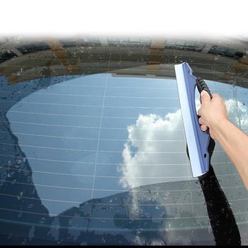 Samochód silikonowe wycieraczki do wody mydło do czyszczenia skrobak okno samochodu myjnia Cleaner wycieraczka ściągaczka suszenie ostrze zestaw prysznicowy tanie i dobre opinie DEDOMON CN (pochodzenie) 30inch Silicone+ABS