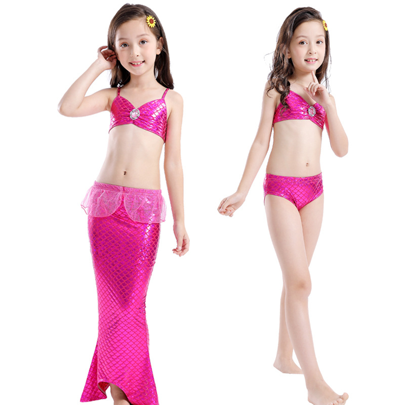 2019 Hot Selling Swimwear Mermaid Swimsuit CHILDREN'S Swimwear Bikini Europe And America Bathing Suit Women's