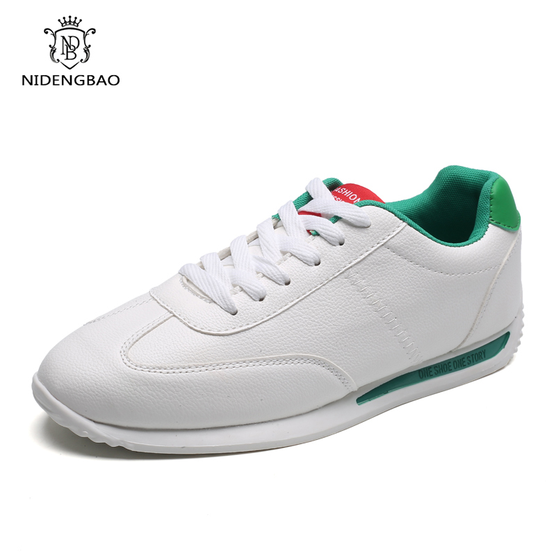 Classic Men's Casual Shoes Student Fashion White Sneakers For Lovers Size 35-44 Comfortable Lightweight Tennis Mens Shoes Summer